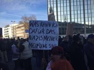 colonia manifestazioni dopo le molestie di capodanno 4