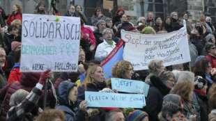 colonia manifestazioni dopo le molestie di capodanno 6