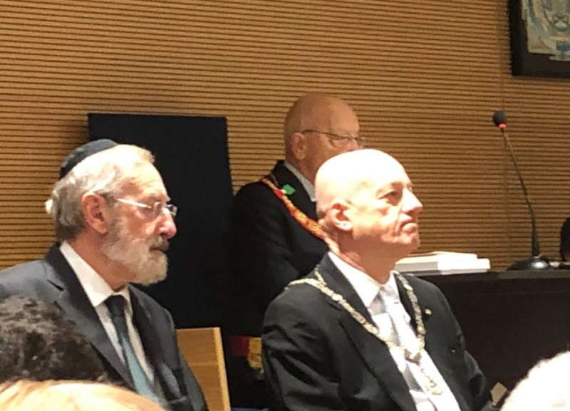 la visita del rabbino riccardo di segni a stefano bisi grande oriente d italia 2