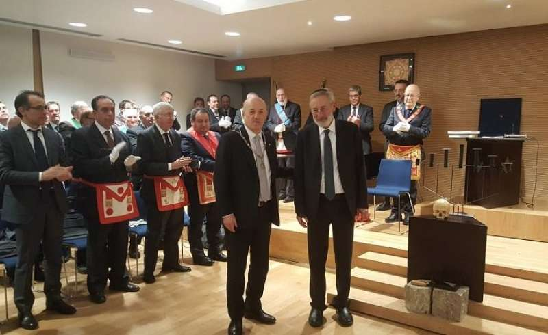 la visita del rabbino riccardo di segni a stefano bisi grande oriente d italia 4