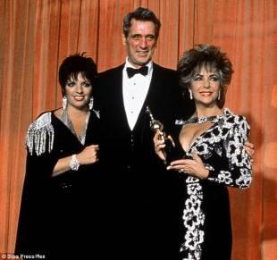 Rock Hudson , Liza Minnelli e Liz Taylor