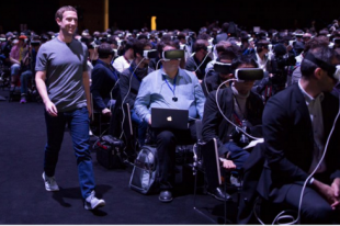 MOBILE WORLD CONGRESS SMARTPHONE ZUCKERBERG