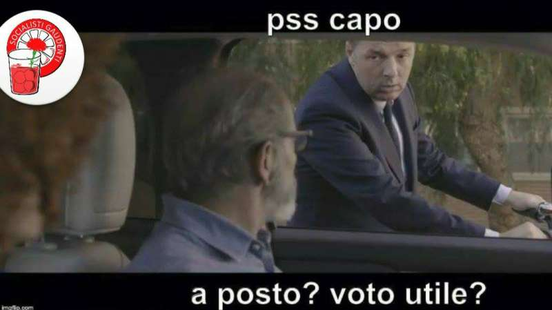 matteo renzi meme socialisti gaudenti