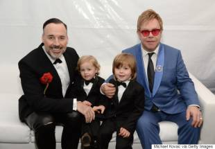 elton john david furnish e figli