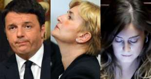 Federica Guidi - Renzi - Boschi