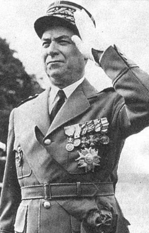 marocchinate Il generale Alphonse Juin comandante del Cef