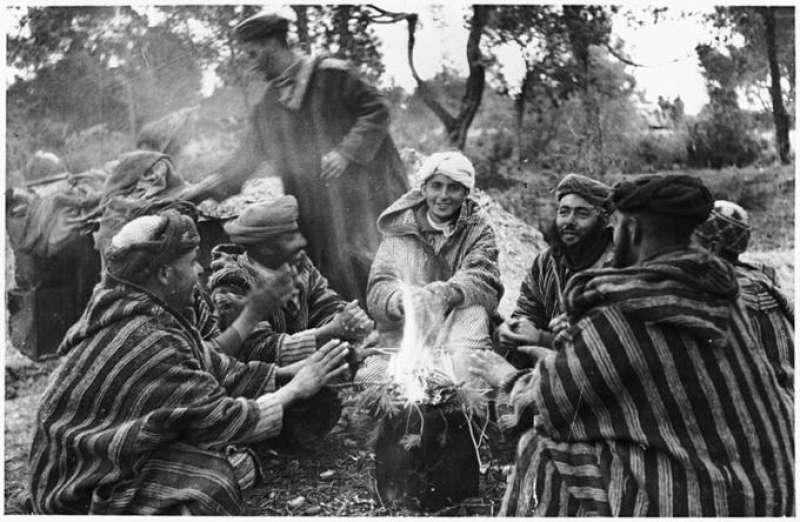 marocchinate Reparto di goumiers