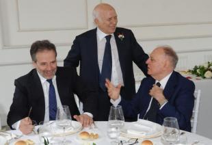 Umberto Ranieri Paolo Cirino Pomicino e Rino Formica