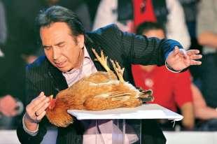 giucas casella e un pollo