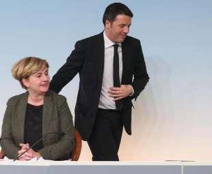 Matteo Renzi e Federica Guidi