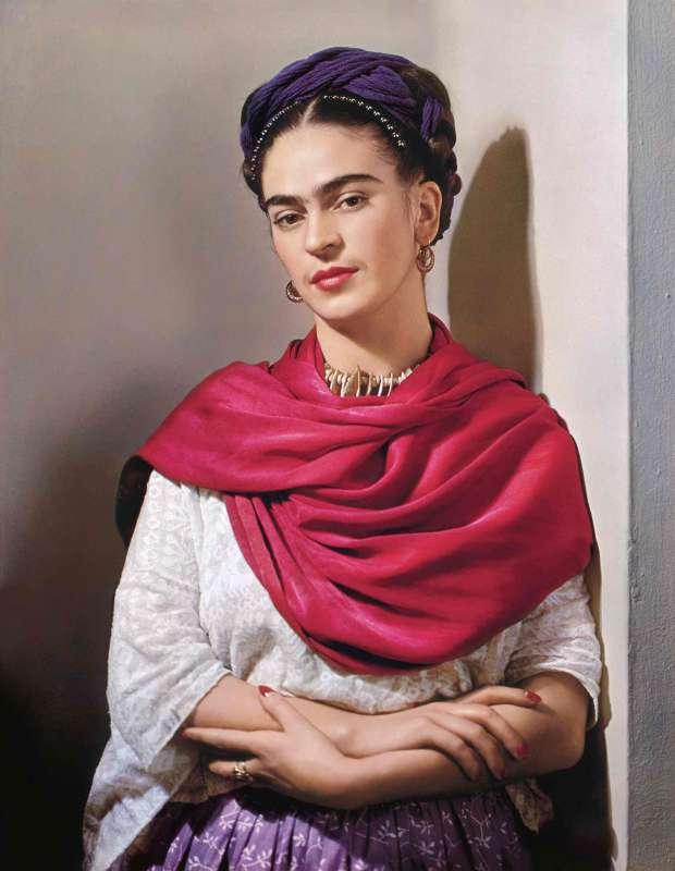 frida con foulard 1939