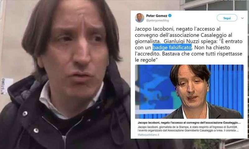 Ufficio Collocamento Ivrea : Nuzzi da u201cquarto gradou201d al degrado lo strano caso del giornalista