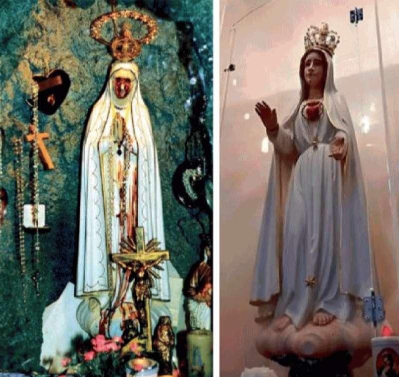 la madonna di lazise (verona) e quella di nocera inferiore (salerno)