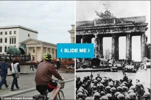 Berlino 1945 2015 a confronto le stesse immagini - Trombate a letto ...