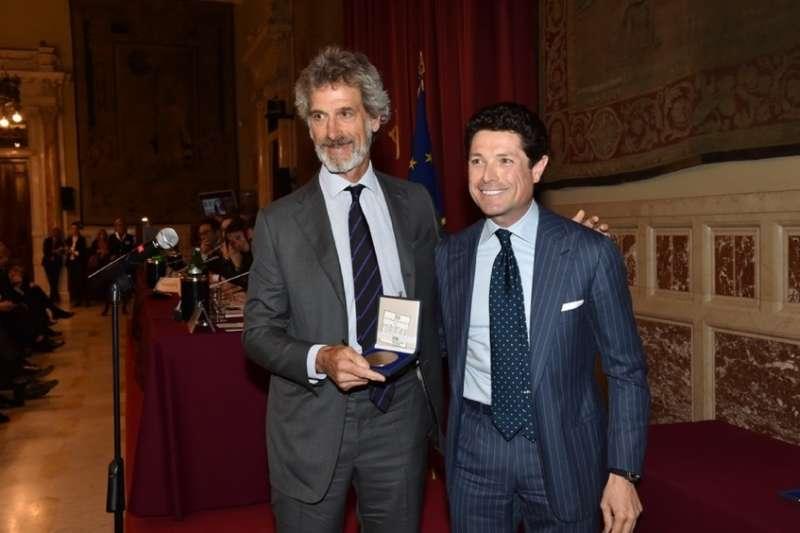 Aereo Privato Barilla : I premi guido carli by gianni letta e romana liuzzo