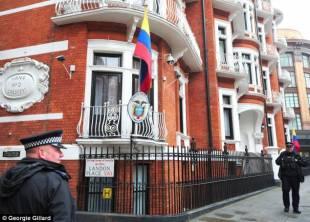 l ambasciata dell ecuador a londra