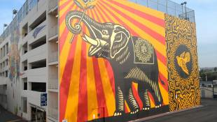 shepard fairey murales hollywood