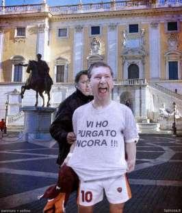 marino renzi elezioni roma