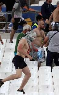 rissa allo stadio dopo inghilterra russia 4
