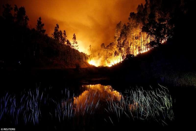 portogallo incendi a pedrogao