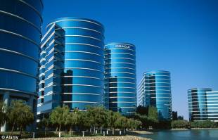 oracle building, silicon valley