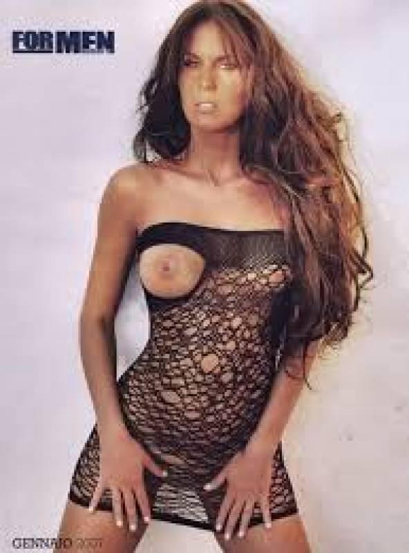 Nude antonella mosetti