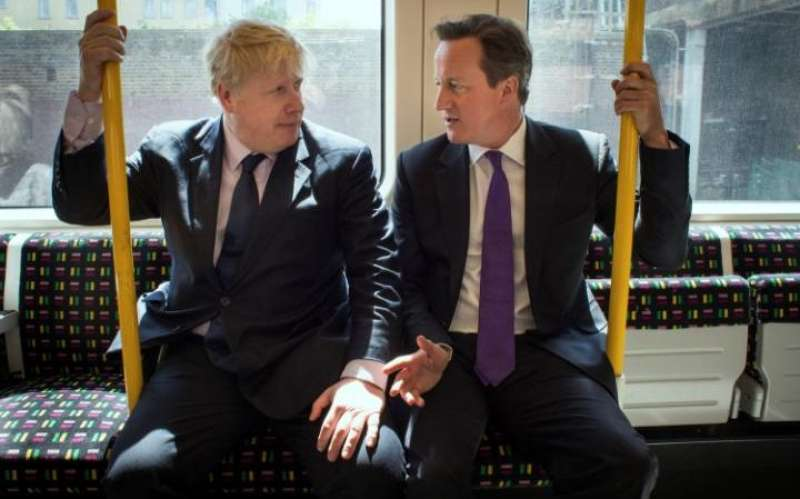 boris johnson e david cameron