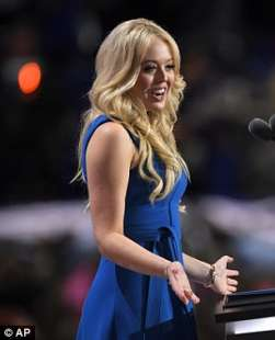 tiffany trump parla alla convention