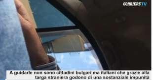 Auto italiane con targa bulgare