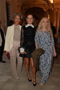 Paola Ventimiglia Sciascia Gambaccini e Franca Sozzani PARTY VANITY FAIR