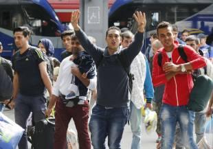 germania arrivo dei profughi siriani 6