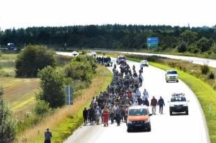 migranti tra germania e danimarca