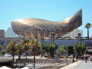golden fish barcellona