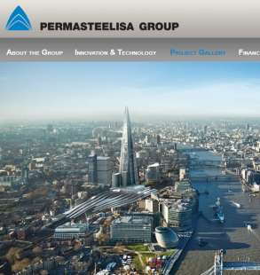 permasteelisa group londra shard