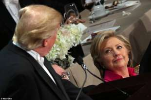 al smith dinner donald trump hillary clinton 15