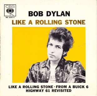 BOB DYLAN LIKE A ROLLING STONE