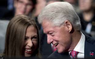 chelsea e bill clinton
