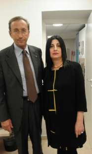 GIANFRANCO FINI E MARIA ANTONIETTA CANNIZZARO