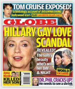 hillary clinton gay love scandal