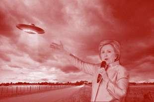 hillary e gli ufo