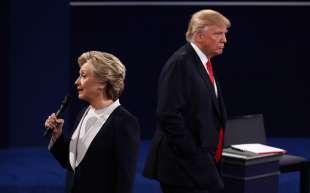 il secondo confronto tv tra trump e hillary clinton 8