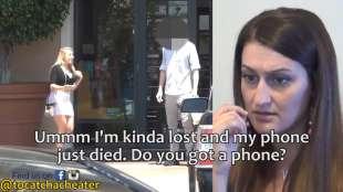 la pornostar tenta il ragazzo fidanzato to catch a cheater
