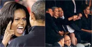michelle obama incazzata con barack