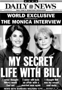 my secret life with bill by monica lewinsky