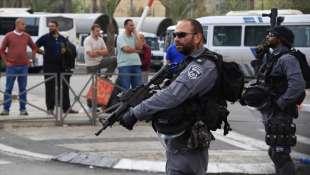 POLIZIA IN ISRAELE