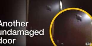 porte senza danni nell appartamento di kim kardashian