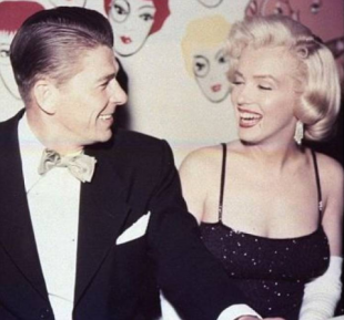 ronald reagan e marilyn monroe
