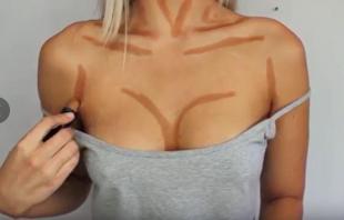 trucco per aumento seno 2