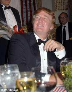 trump a cena di gala