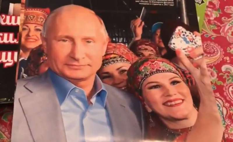 Calendario Frate Indovino Ebay.In Russia Esce Il Calendario Di Putin Ormai Appuntamento
